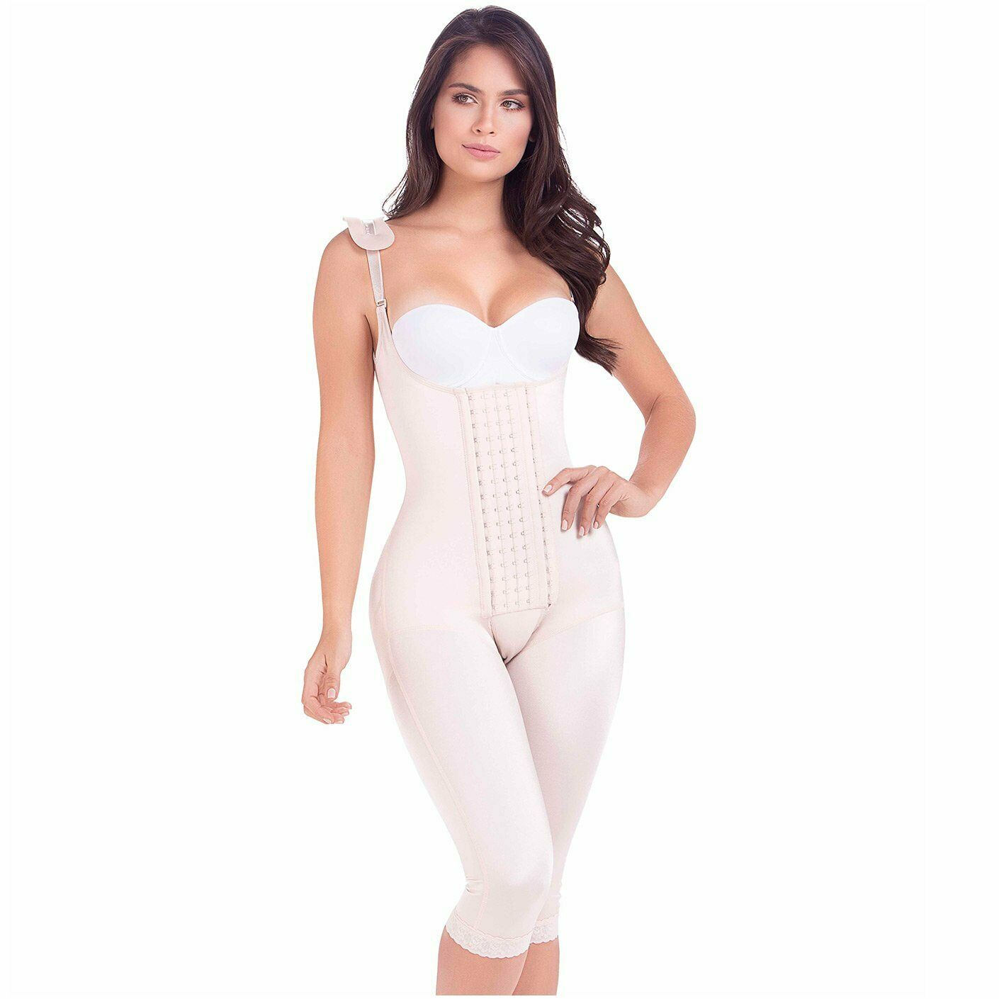 MARÍA E  Postoperative Shapewear With Shoulder Pads For Woman Ref 9312