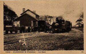CPA AK Plouezoc'h - La Gare (253236)