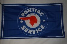Pontiac Old Logo Advertising Promotional Flag Banner 3X5