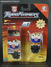 Tiny Tins PROWL 2 Transformers Robots In Disguise RID Spychangers 2003 New