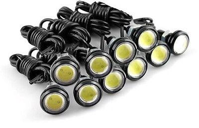 10X 18MM 3W LED Eagle Eye White Light Daytime Running DRL Backup Light Car Motor