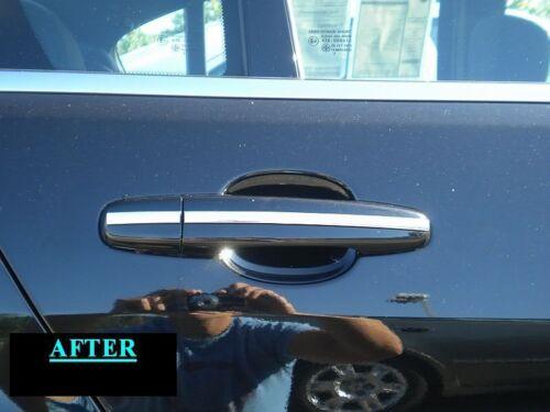 BMW CHROME DOOR HANDLE TRIM MOLDING 4PC W//5YR WRNTY+FREE INTERIOR PC 1