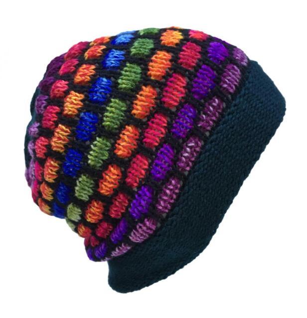 Quality Hand Made   Wool Peruvian Ski Hat