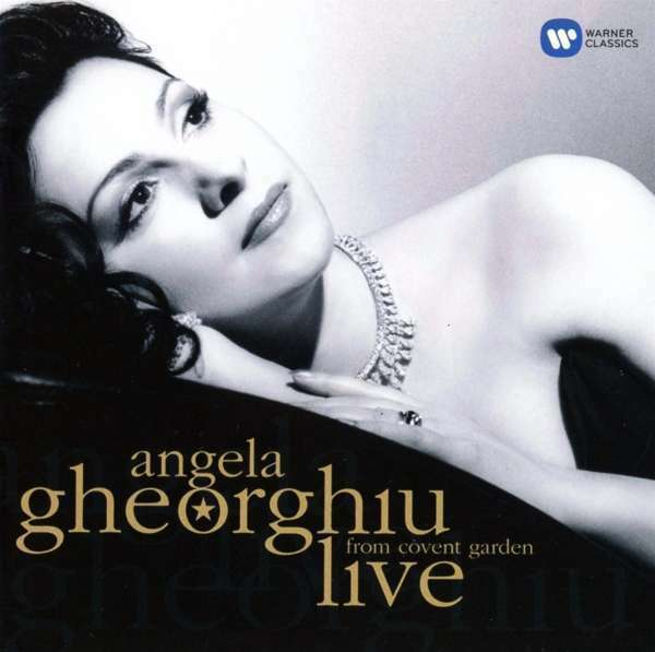 Angela Gheorghiu - Live From Covent Garden Nuevo CD
