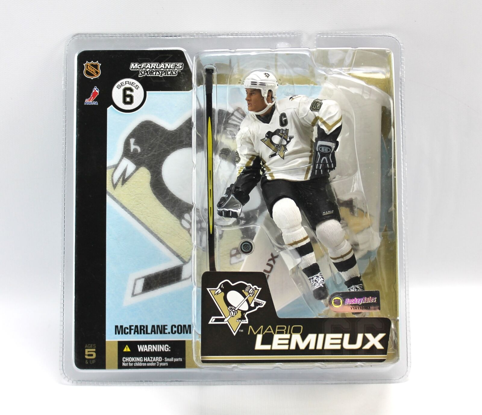 McFarlane MARIO LEMIEUX Pittsburgh Penguins NHL cifra Series 6 2003