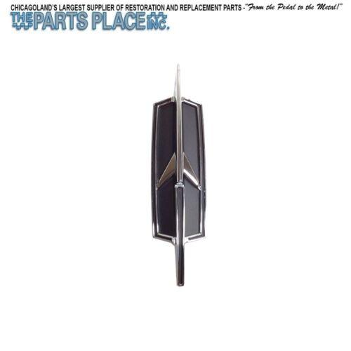 "1972 Cutlass 442 Stoneshield /'Rocket/"" Emblem Black /& silver Each"