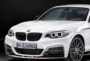 Image Is Loading BMW OEM M Performance Black Kidney Grille F22