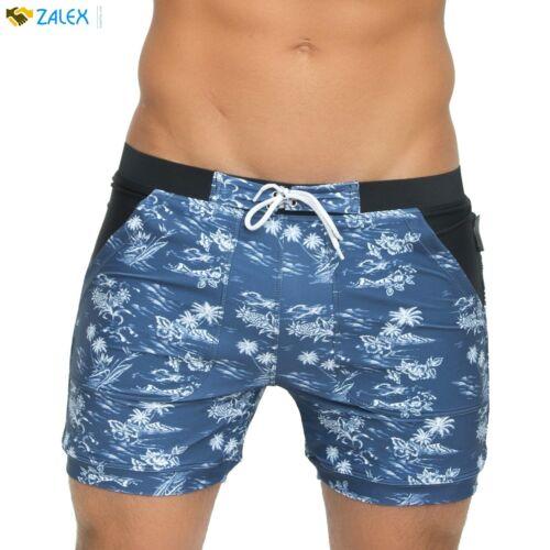 Basic Men Swimwear Swim Surf Trunks Blue XL Shorts Summer Beach Swimming Pools