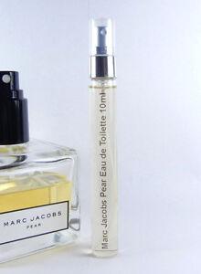 Marc-Jacobs-Pear-Eau-de-Toilette-10ml-Travel-Sample-Atomizer-Spray-EDT-0-33oz