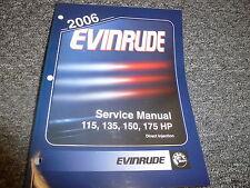 2006 Evinrude 115 135 150 175 HP  DI  Motor Shop Service Repair Manual SD