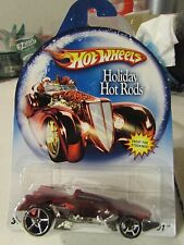 2007 Hot Wheels Holiday Hot Rods Red RD-01