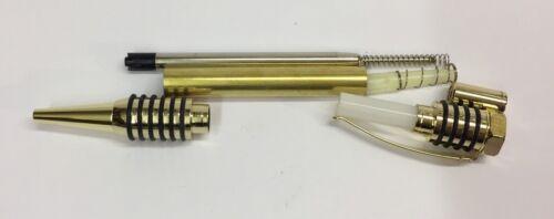 Klick-Kugelschreiber Bausatz Warrior In Gold Pen Kit Pen Blank Drechselbank