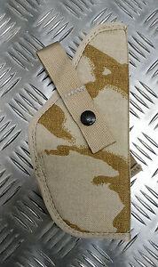 Original-Britischer-Militaer-Cordura-Wueste-Camo-Pistolenholster-9MM-Auto-Neu