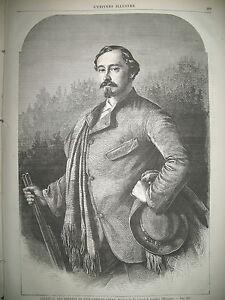 ERNEST-II-DUC-DE-SAXE-COBOURG-GOTHA-Pdt-TIR-NATIONAL-DE-FRANCFORT-GRAVURES-1862