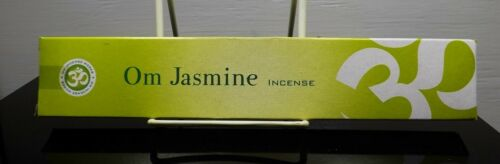 OM INCENSE WORKS OM JASMINE INCENSE 15 GRAM BOX 9-10 STICKS LONG BURN