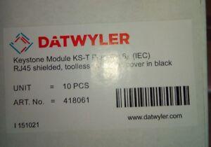 10stk Dätwyler Keystone Modul KS-T Plus Cat.6a (IEC) RJ45 ART.Nr:418061 (C4) - Landau, Deutschland - 10stk Dätwyler Keystone Modul KS-T Plus Cat.6a (IEC) RJ45 ART.Nr:418061 (C4) - Landau, Deutschland
