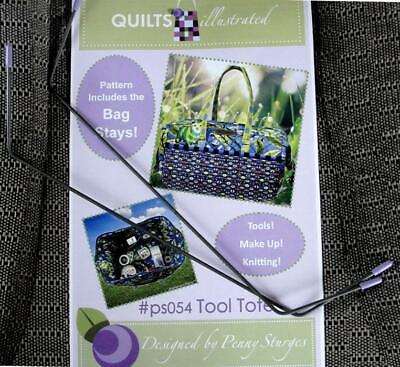 Quiltsillustrated.com PS054 Tool Tote Ptrn