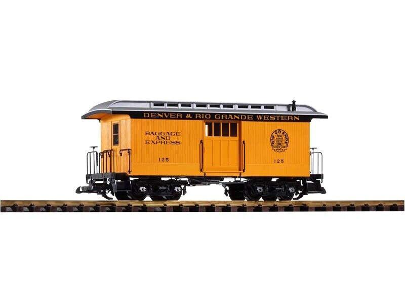 PIKO 38603 vagone bagagli Denver & Rio Grande Western, Traccia G