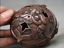 3-8-034-Old-Chinese-Red-Bronze-Dynasty-Beast-Zun-Statue-Incense-Burner-Censer thumbnail 6