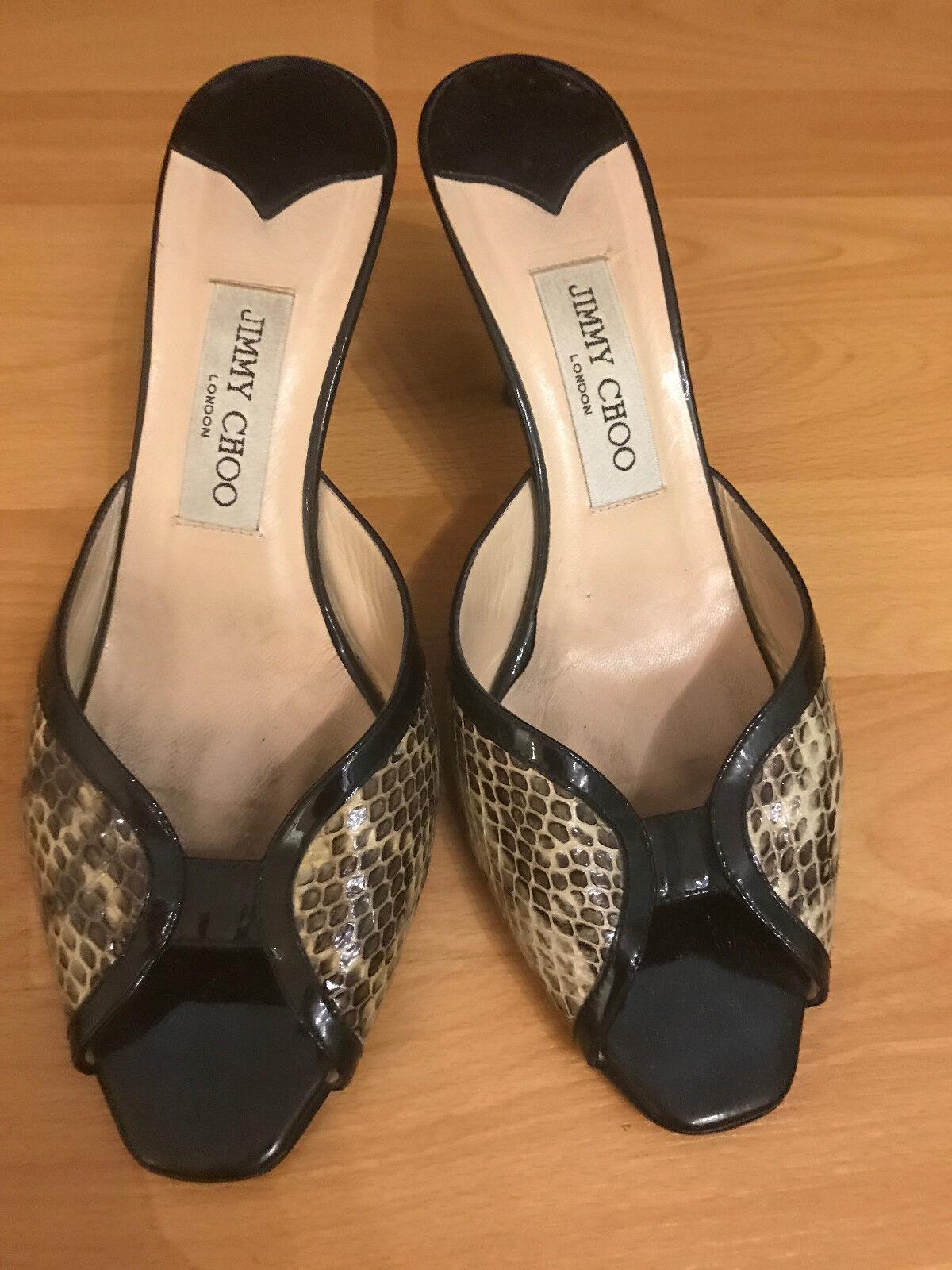 controlla il più economico JIMMY JIMMY JIMMY CHOO donna Leather Authentic scarpe Heels Dimensione 38    MONSICH  prezzi bassi di tutti i giorni