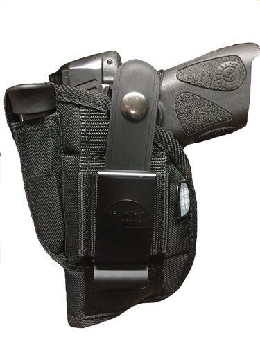 Ruger SR-22 With Laser Sight Gun holster With Magazine pouch