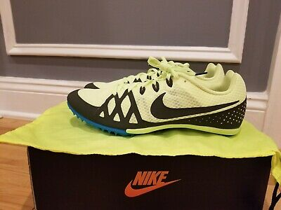 Nike Zoom Rival S 9 Track Spike Volt Glow//Black//Sequoia//Blue Orbit Size 11.5 M US