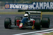 Gabriele Tarquini Fondmetal GR01 Mexican Grand Prix 1992 Photograph