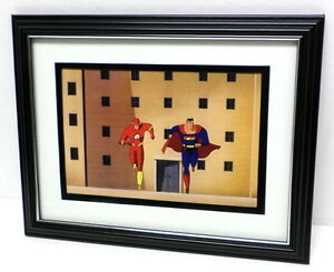 Superman-Animated-Series-Framed-Print-or-art-picture-w-Flash