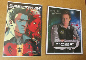 SPECTRUM-Comic-0-Alan-Tudyk-Autographed-8X10-Photo-Con-Man-Firefly-Prop