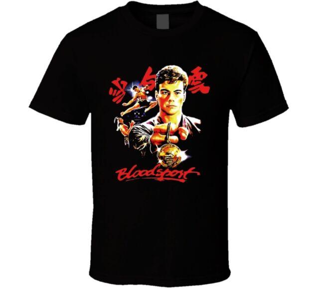 JEAN-CLAUDE VAN DAMME BLOODSPORT  *CUSTOM QUALITY ART DESIGN* Shirt *OPTIONS*