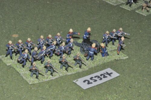 20mm colonial british zulu war marines 24 figures inf 25324