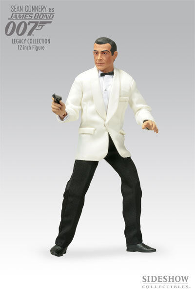 JAMES BOND 007 SEAN CONNERY LEGACY COLLECTION 1/6 SCALE  SIDESHOW  FIGURE NEW B