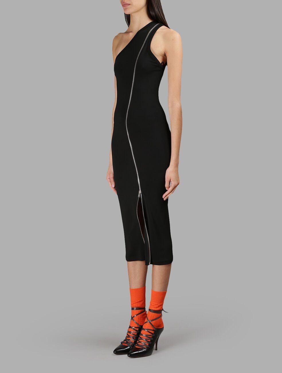 Givenchy One Shoulder Shoulder Shoulder Zip Detailed Stretch Jersey Dress  1945 e2e4d6