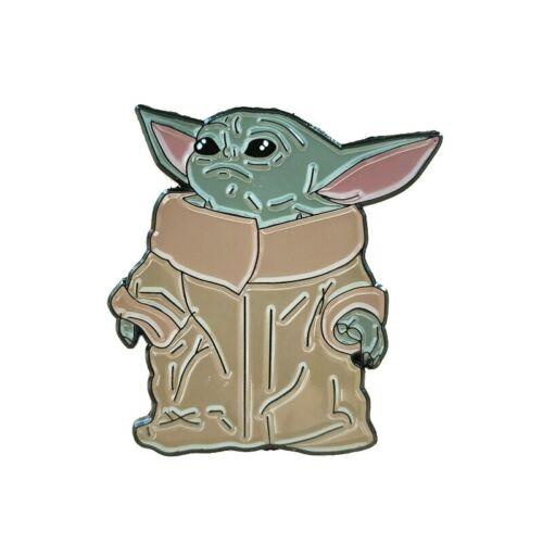 Baby Yoda duro dello smalto pin badge spilla