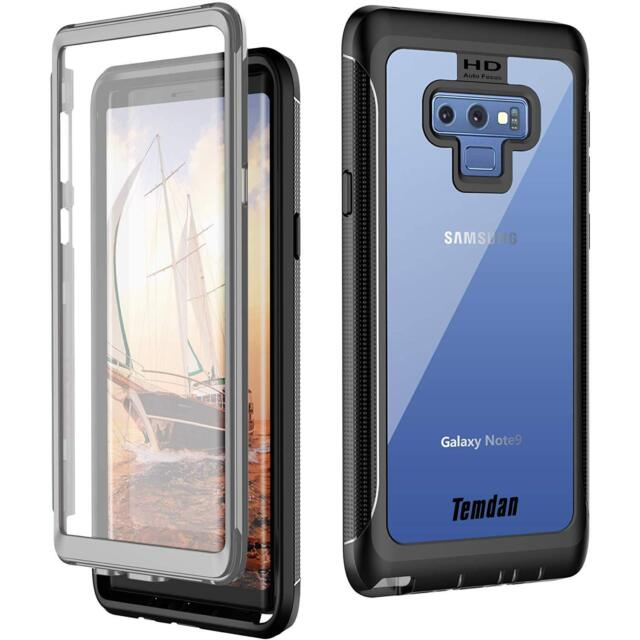 buy popular c358c 62e85 for Samsung Galaxy Note 9 Thin 360 Degree Full Body Protection Shockproof  Case