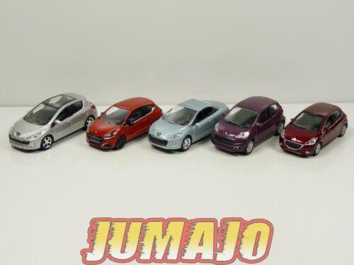 5 X 3 inches 1//64 Peugeot NOREV 107 308 Cc 208 3p 5p 308 Bündel Nr°11