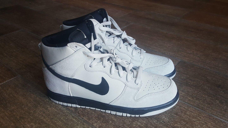 8e68a3ea6361 Nike Dunk High AF1 Light Light Light Bone Basketball Shoe Men s SZ 10.5 New  904233-