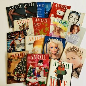 1996-Vintage-Avon-Catalog-Campaign-Books-Lot-of-16