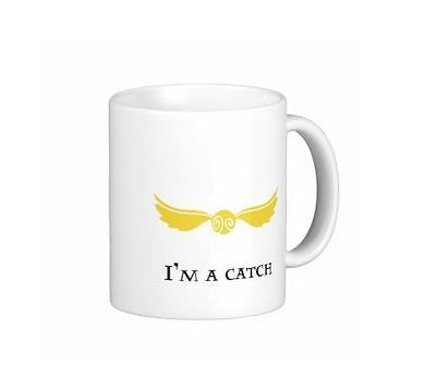 I'm A Keeper I'm A Catch Harry Potter Coffee Mug Tea Cup