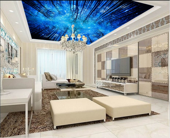 3D Night Scene Starry Sky 77 Wall Paper Wall Print Decal Wall Deco AJ WALLPAPER