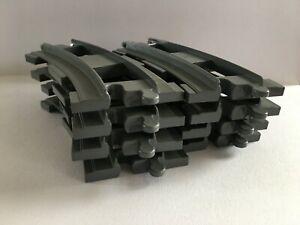 Lego Duplo Eisenbahn 2735 Kurven Nr grau  -**  12 x**