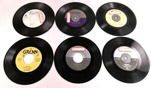 Lot-of-Six-Square-Dance-45rpm-Records-Featuring-The-Texans-The-Sundowners-Band