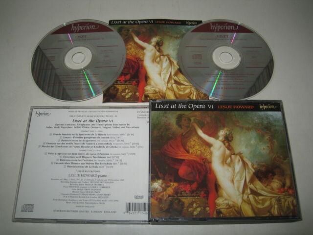 F.LISZT/LISZT AT THE OPERA VI L.HOWARD(HYPERION/CDA674067)2xCD ALBUM