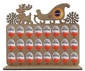 Calendario de Adviento Reno &amp; Trineo se ajusta Terry Chocolate Naranja Y Huevos Kinder  </span>