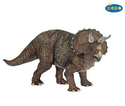[NEW] Papo Dinosaurs_Triceratops_Top Quality Detailed French Figure -55002- AU