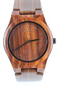 Bewell-Reloj-De-Madera-Mujer-HOMBRE-40mm-top-geschenk-holzarmbanduhr