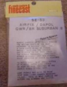 Humoristique Flushglaze Windows Se-53 Airfix, Dapol, Hornby Gwr Br Suburban B Coach Oo Gauge