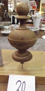 Drechselei Türmchen Nr Massivholz Antik 1880 20 Kaufe Jetzt Radient Holz Zierteil