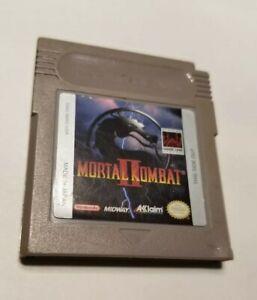 Mortal Kombat II (Nintendo Game Boy, 1994)AUTHENTIC AND TESTED
