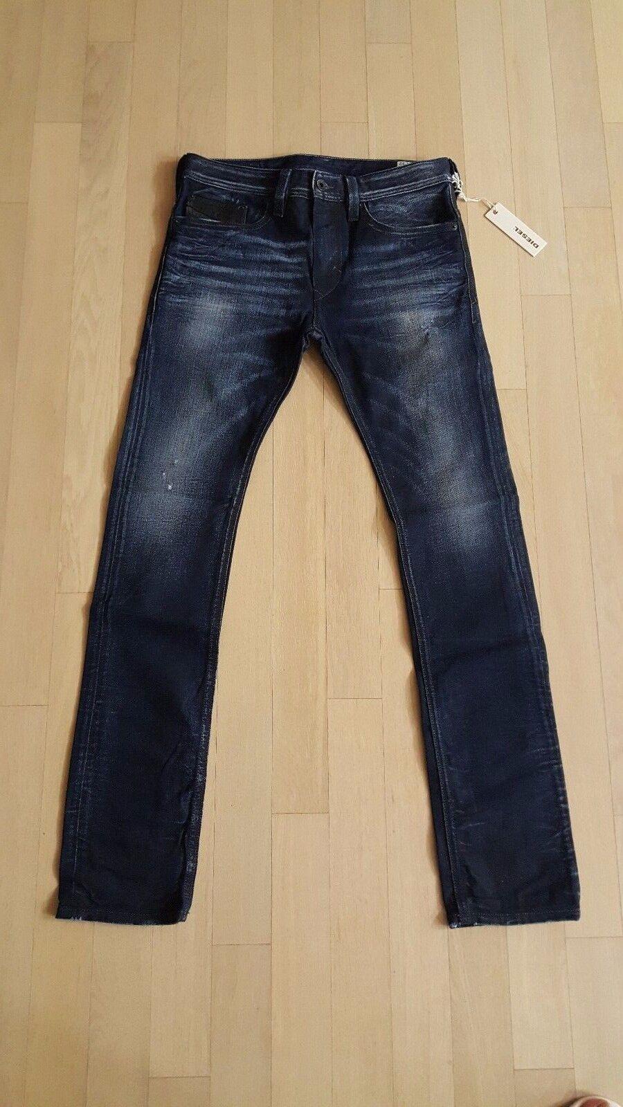 DIESEL THANAZ 880F 100% Authentic ITALY Slim Skinny Jeans